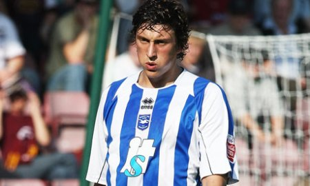 Albion goalscorer Tommy Elphick